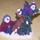 Boyds Collection 2001 Figurine Ally & Oops...No Brakes