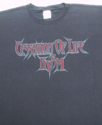 CESSATION of LIFE high velocity speed metal 2XL T-SHIRT