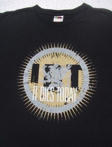IDT It Dies Today New York metalcore MEDIUM T-SHIRT