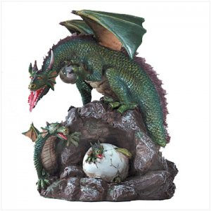 Mother Dragon And Brood