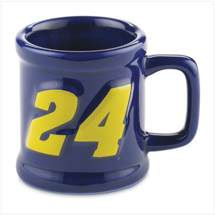 JEFF GORDON SCULPTED MUG SHOT