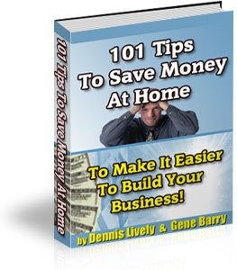 101 Tips To Save Money At Home
