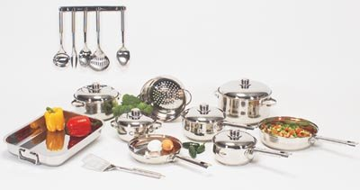 Chef's Secret 29 pc Stainless Steel Cookware
