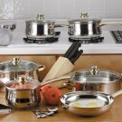 Chef's Secret 31pc Stainless Steel Cookware Set