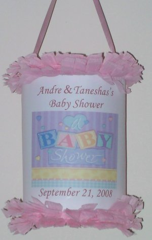 12 baby shower mini pinata party favor