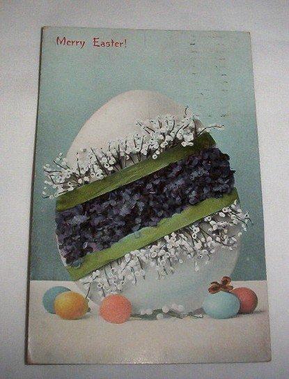 Merry Easter Postcard E7