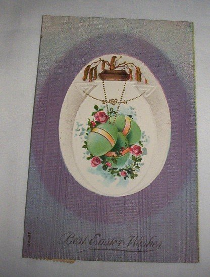 Best Easter Wishes Postcard E5