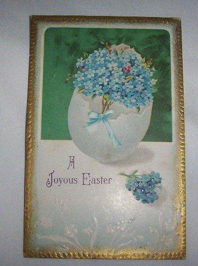 A Joyous Easter postcard E4