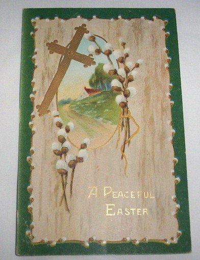 A Peaceful Easter Postcard  E10