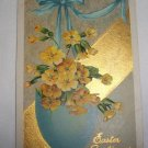 Easter Greetings Postcard  E18