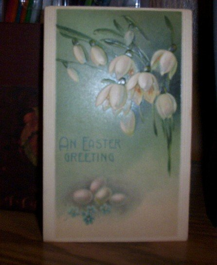 An Easter Greeting postcard E19