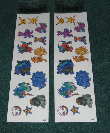 Fantasy Temporary Tattoos lot of 2 packages #3