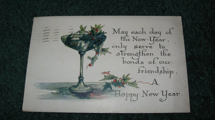 Happy New Year Postcard lot   ny2