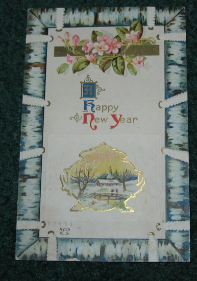 A Happy New Year Postcard lot ny3