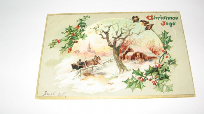 Raphael Tuck & Sons Christmas Joys Lot  c16