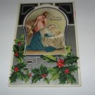 A Merry Christmas Mary, Joseph & Jesus Postcard lot #19