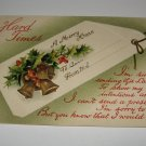 Hard Times Christmas Postcard printed in Germany lot  c26