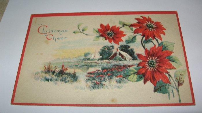 Christmas Cheer Postcard lot  c 30