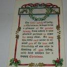 Spray of Holly Christmas Postcard lot  c 42