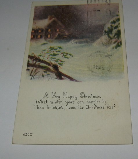 A Very Merry Christmas postcard lot  C50