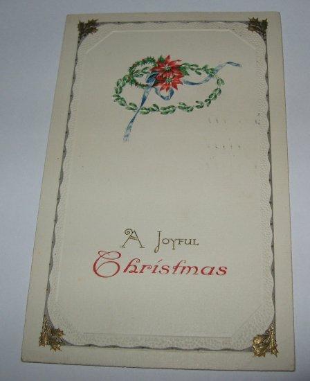 Christmas Poinsettia Postcard lot  75