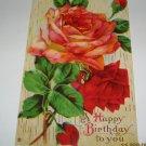 Rose Birthday Postcard B-1