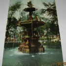 Fountain Franklin Park Milwaukee,Wis postcard W22