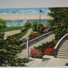 Looking Toward the Stadium,Milwaukee,Wis. postcard W23