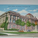 Public Library and Museum,Milwaukee,Wis postcard W24