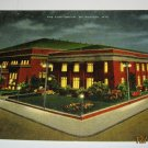 The Auditorium,Milwaukee,Wis postcard w27