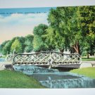 Lagoon In South Park Oshkosh,Wi postcard W38