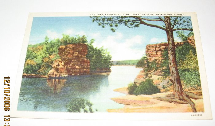 The Jaws Wisconsin Dells,Wis Postcard W44