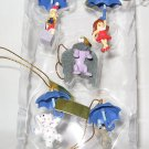 Miniature Ornament set lot of 5 pieces