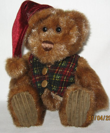 First and Main Collectable Plush Bear Red Cap