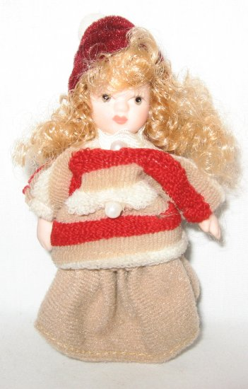 Porcelain Miniature Doll