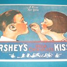 Hersheys Milk Chocolate Kisses Postcard