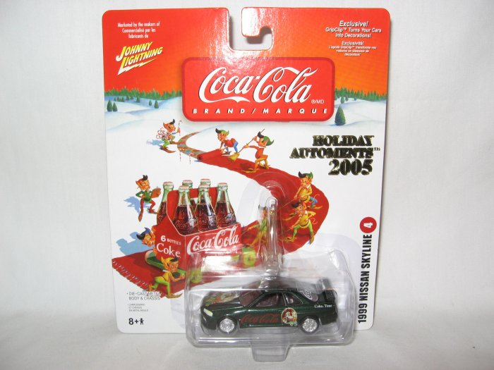 Coca Cola Holiday Ornament Nissan Skyline 1999