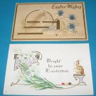 Easter postcards bunnies E24