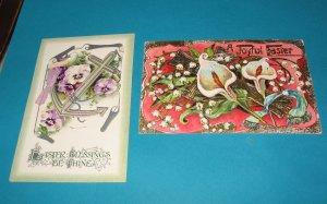 German Easter Postcards E 26 lot of 2