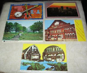 Tennessee Postcards lot of 5 S1