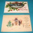 New Year Postcard Lot NY6