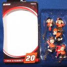 Tony Stewart number 20 miniature ornaments
