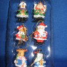 Miniature figurine Christmas ornaments