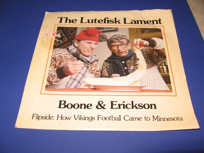 The Lutefisk Lament 45 RPM record