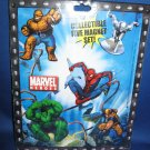 Marvel Heroes Collectible Magnet set
