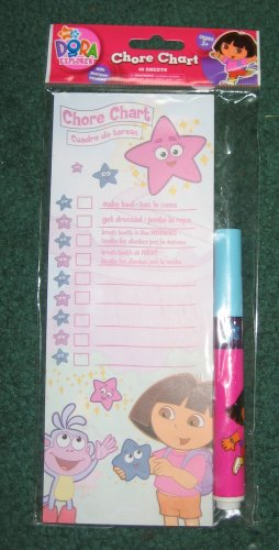 Dora the Explorer chore chart