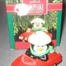 Christmas ornament Hallmark Keepsake Polar Sport penguin in car