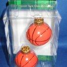 Kurt S Adler Glass Basketballs Christmas ornament