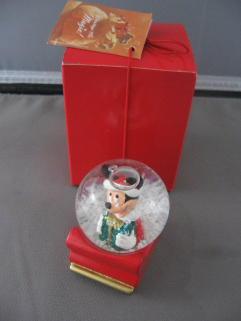 Mickey Mouse Snow Globe 2003