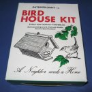 Wood birdhouse kit